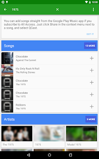 QCast Music - Party Playlists - screenshot thumbnail