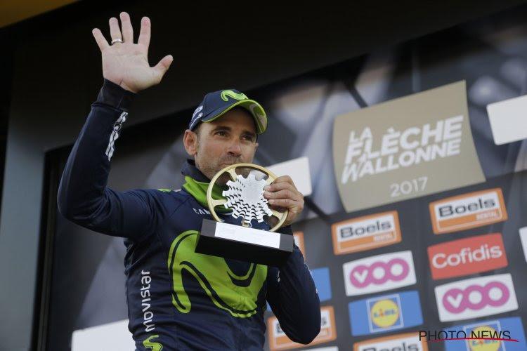 """Imposante Valverde rijdt zich in geschiedenisboeken: """"Deze wedstrijd is voor mij gemaakt"""""""