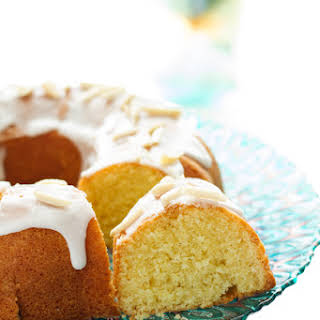 Almond Bundt Cake.