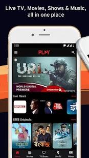 Vodafone Play - LIVE TV Movies TV Shows Originals Screenshot