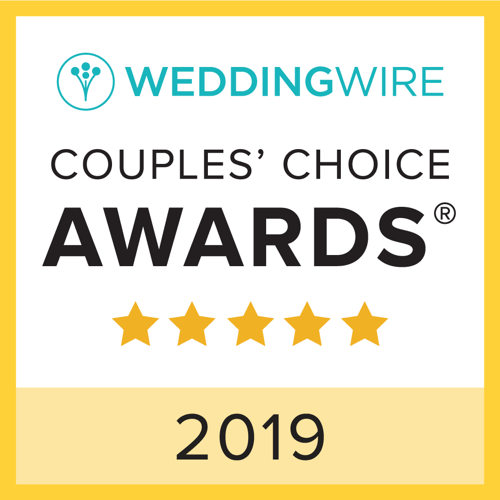 Pacific Hearts, WeddingWire Couples Choice Award