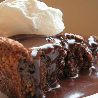 Chocolate Graham Cracker Cake.