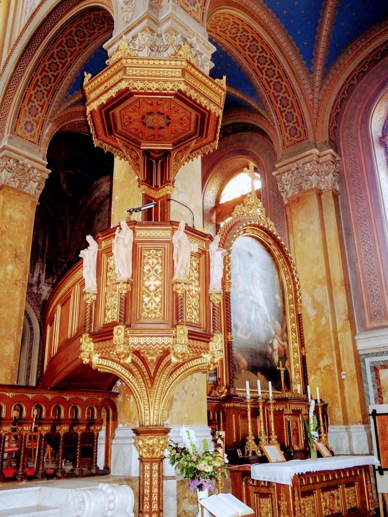 Fót - Szeplőtelen fogantatás rk. templom, belső tér