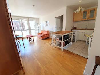 Appartement meublé 2 pièces 46,86 m2