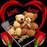 Loving Brown Furry Bear Theme Icon