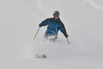 Photo: Randy knee deep in famous Alta powder