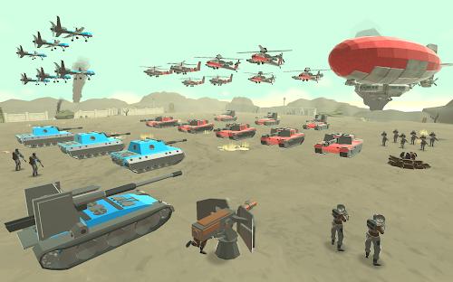Screenshot 1 Army Battle Simulator 1.2.60 APK MOD