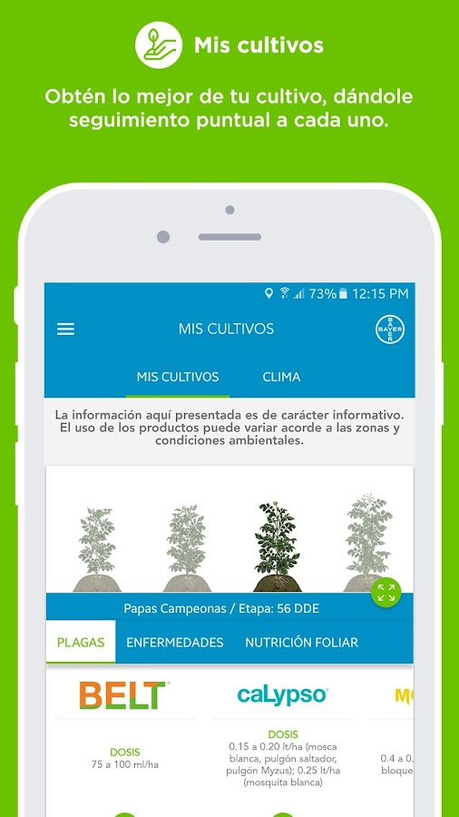 Mi cultivo con Bayer- screenshot