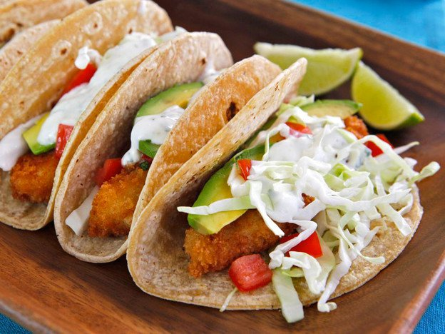 Crispy Panko Fish Tacos