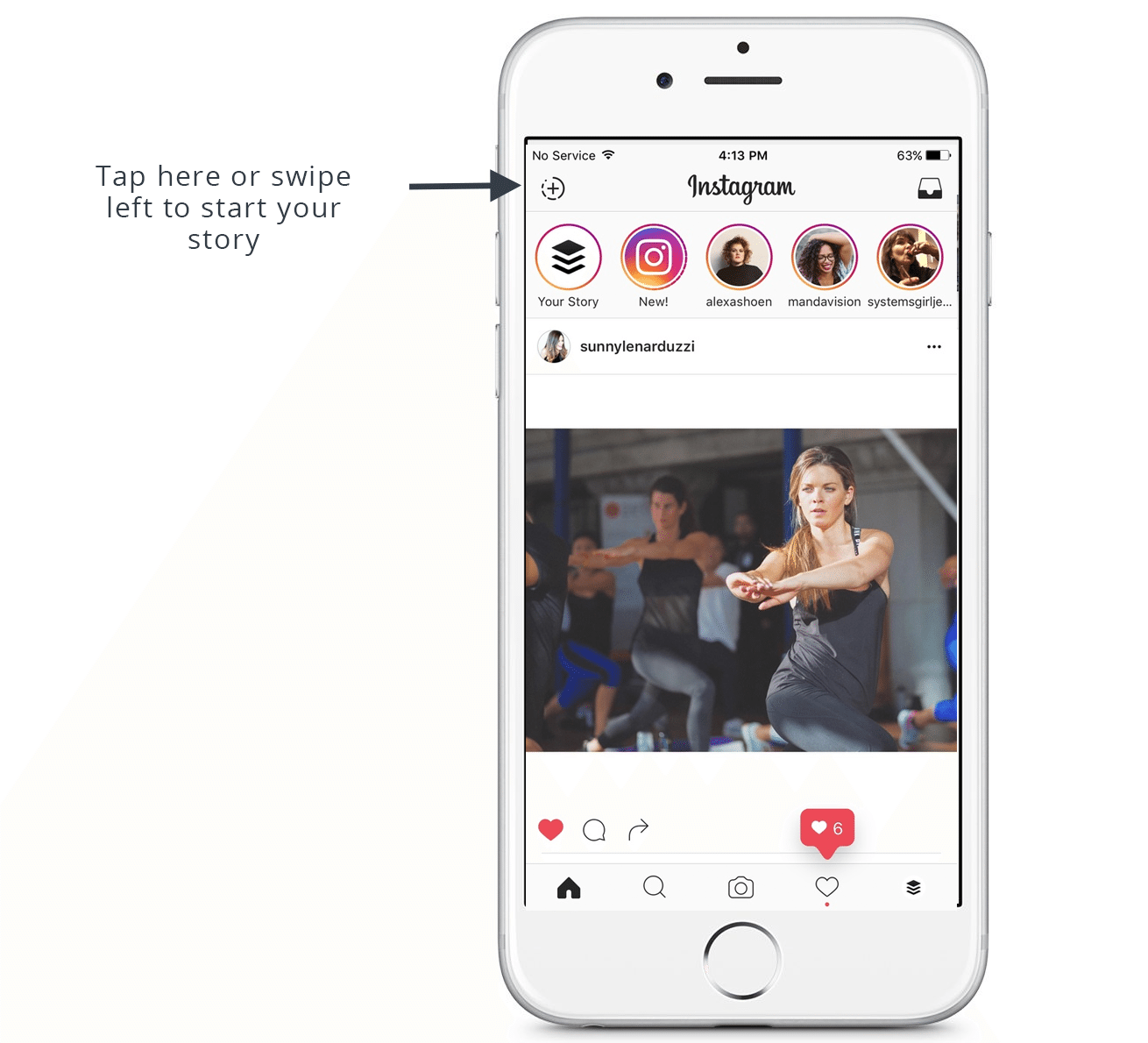 Use Instagram Stories to drive traffic and reach as a personal trainer