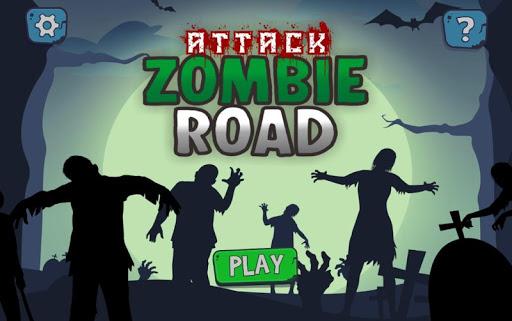 Zombie Road Attack 1.0 screenshots 1