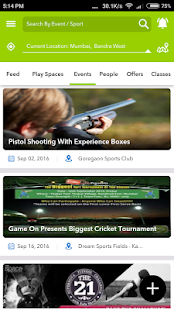 SportsJig - Sports near you- screenshot thumbnail