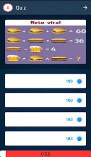 Math Quiz Game, Mathematics 5