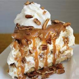 Caramel Pecan Delight Pie.