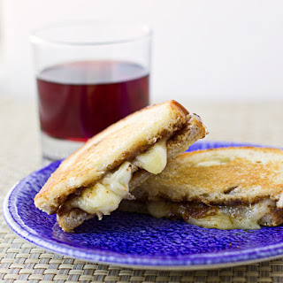 Fig Butter Grilled Cheese