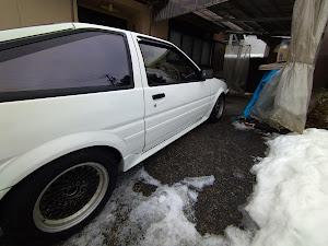 スプリンタートレノ AE86 GT APEX 3ドア    昭和 60年式のカスタム事例画像 86K☆さんの2021年01月17日17:50の投稿