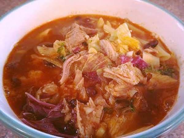 Hearty Pork & Kale Soup