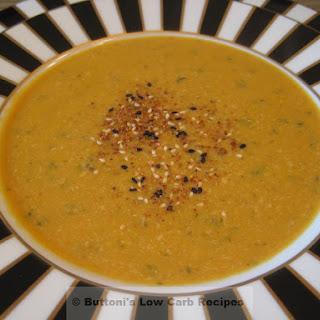 Thai Chicken-Pumpkin Soup.