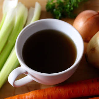 Homemade Nourishing Vegetable Broth.