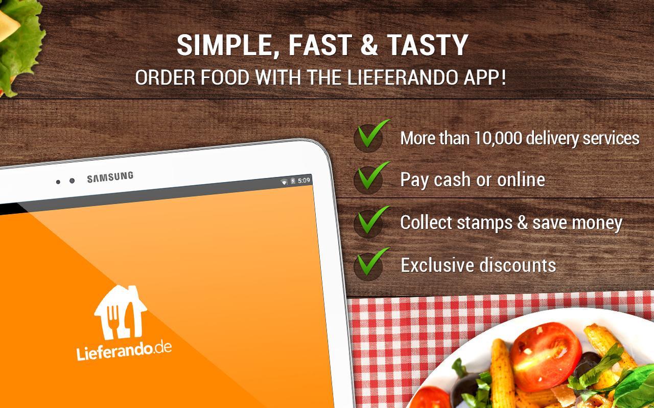 Lieferando.de: Order Food- screenshot