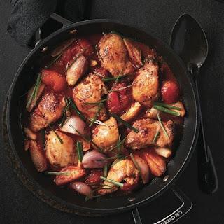Braised Chicken And Tomato Stew