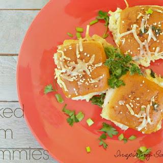 Baked Ham Sandwiches - Left Over Make Over Dinner