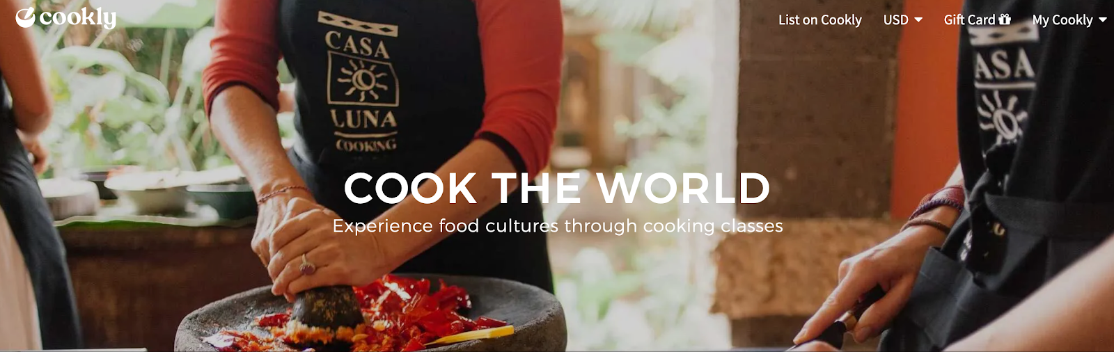 Cookly: Experience Food Cultures Through Food Classes