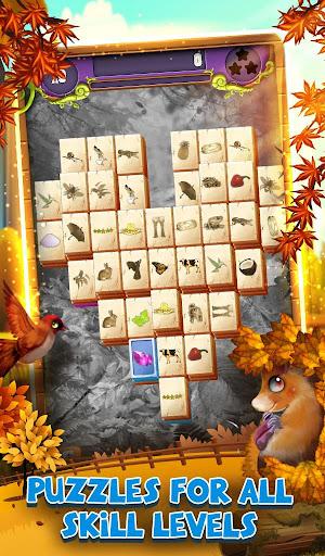 Mahjong Solitaire: Grand Autumn Harvest apkpoly screenshots 4