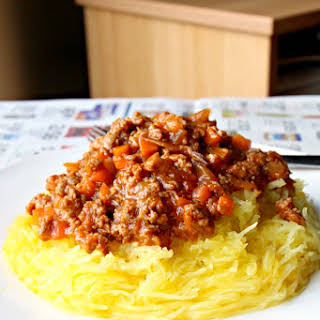 "My Grandmother's Chinese ""Spaghetti"" Bolognese (GF, Paleo, Nut-Free, Dairy Free)."