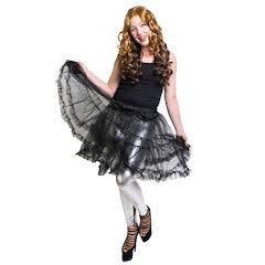 Ballerinakjol, svart