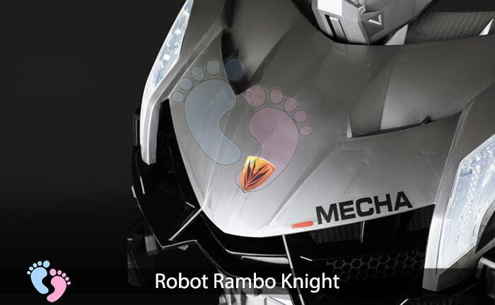 Siêu phẩm Robot Rambo Knight Cho bé 20