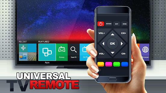 Remote control for TV and home electronics Screenshot