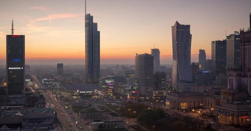 Небоскребы Варшавы