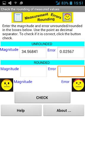 Check Rounding Measurement 1.1 screenshots 2