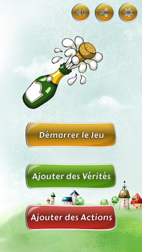 Vu00e9ritu00e9 ou Action - Jeu de la Bouteille 1.3 screenshots 1