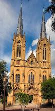 Photo: Die Kirche am Place Jeanne D´Arc in Metz