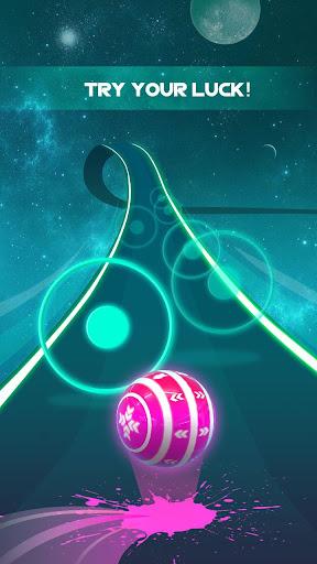 Dancing Neon Ball: Rush Road screenshot 1
