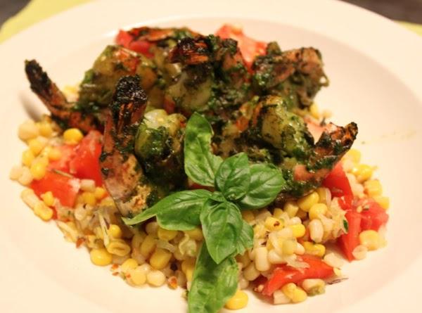 Pesto Prosciutto Wrapped Grilled Shrimp Recipe