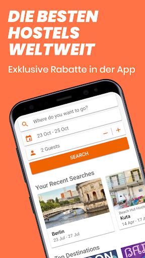 Hostelworld: Jugendherbergen und Reise-App screenshot 1