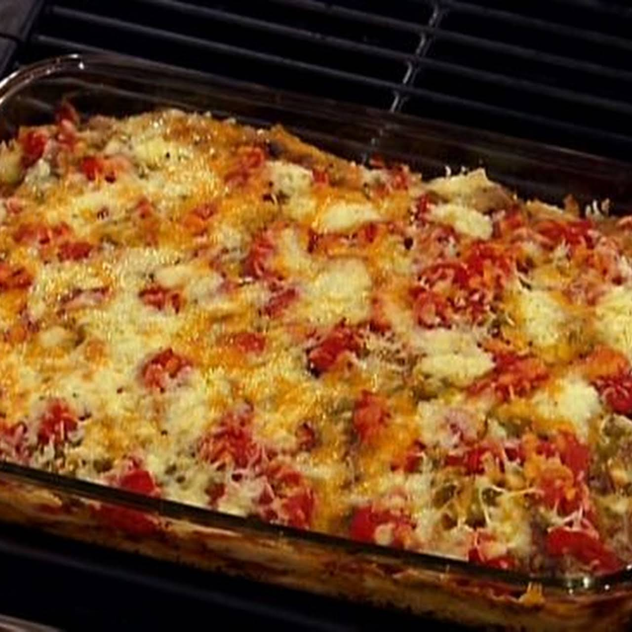 Pizzeria Chicken and Potatoes **Low Carb/Low Fat