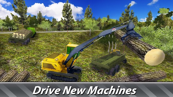 Logging Harvester Truck- screenshot thumbnail