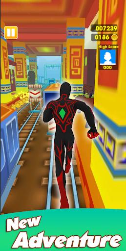 Super Heroes Run: Subway Runner 1.0.6 screenshots 12
