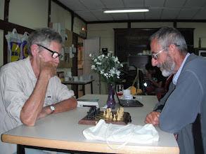 Photo: Roland et André. à l'Albergue de Bilbao le 29 septembre 2012
