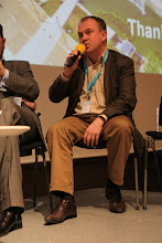 "Photo: Stanislav Naumov - final panel discussion - ""Communicating Science & Innovations""- 2012"