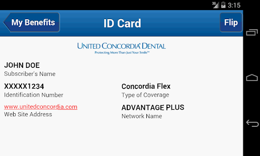 United Concordia Dental Mobile- screenshot thumbnail