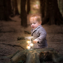 Walks in the woods  by Nicola Morrison - Babies & Children Toddlers ( magic, toddler, woodland, children, fairies )