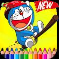 Coloring Book for Doraemon