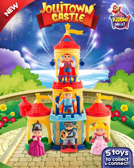 Jollitown Castle Kiddie Meal Toy