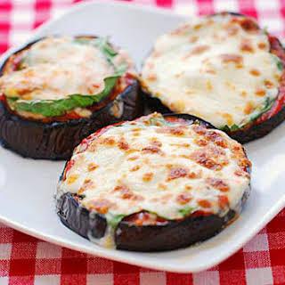 """Eggplant """"Pizza""""."""