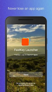 FastKey Launcher Screenshot